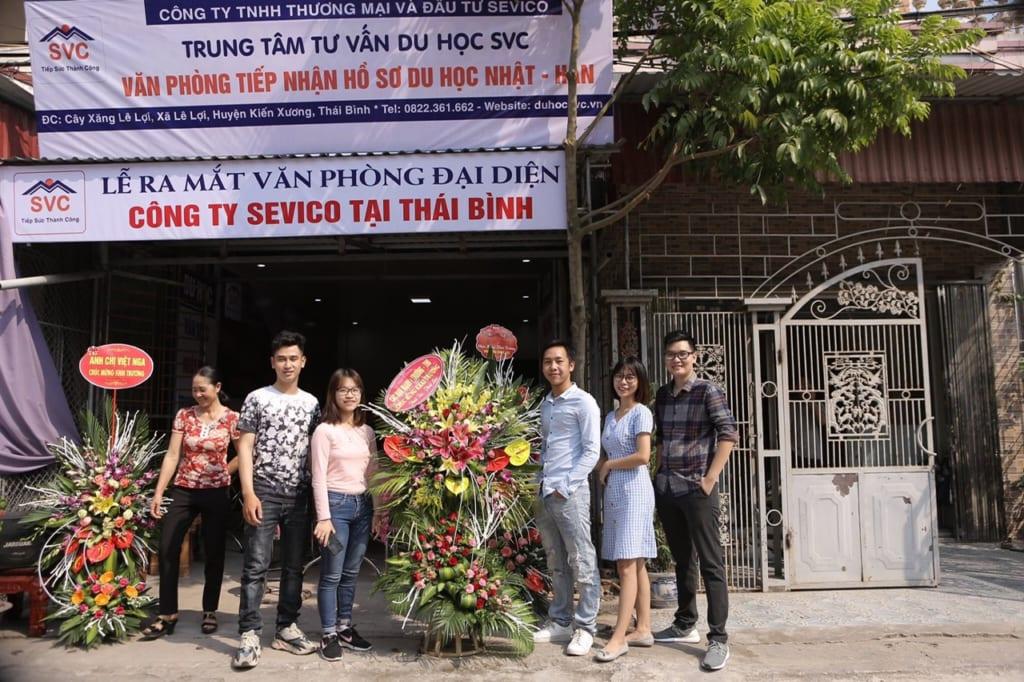 Công ty SVC tại Thái Bình